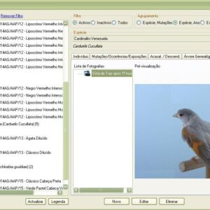 GestBird - Criadores de Aves / Gestão do Plantel
