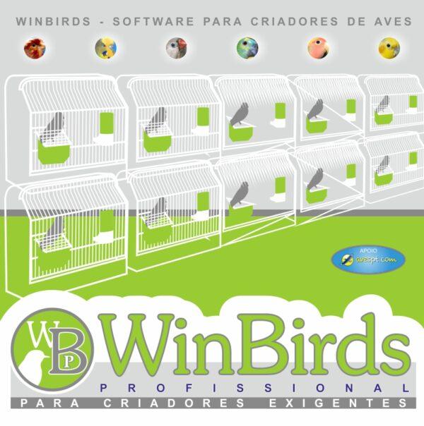 WinBirds Profissional - Software para Criadores de Aves